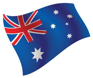 flags australia