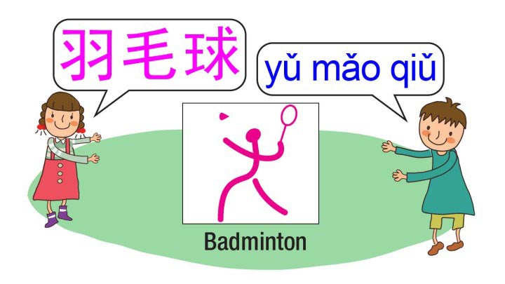 Learn about badminton in Chinese